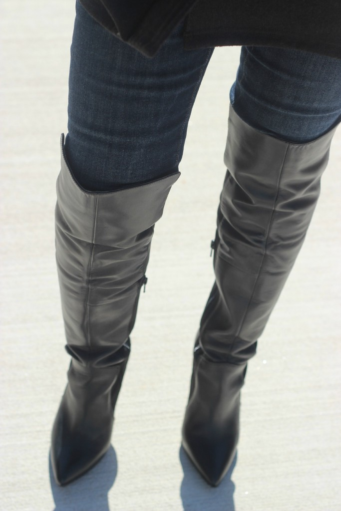 Over the knee boots with cape The OP Life 7