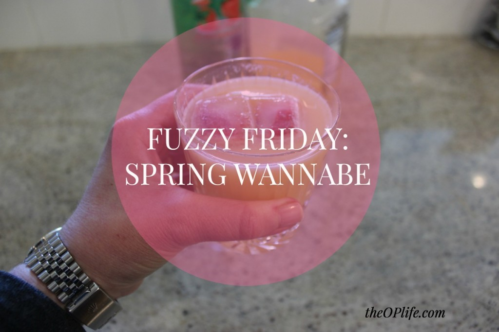 Fuzzy Friday:  Spring Wannabe