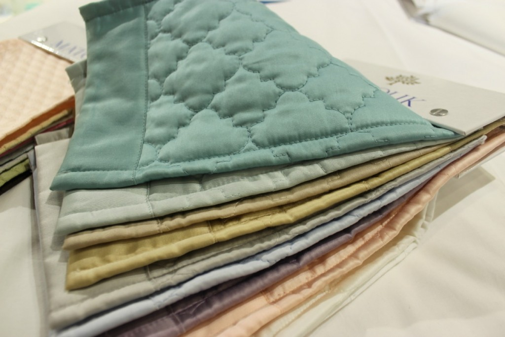 Matouk Luxury Linens at Luxe Objects