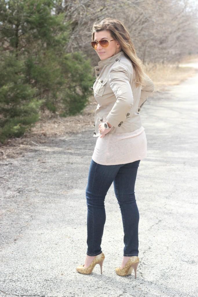 Nicole Miller Jacket Frame Jeans Giuseppe Zanotti pumps 3