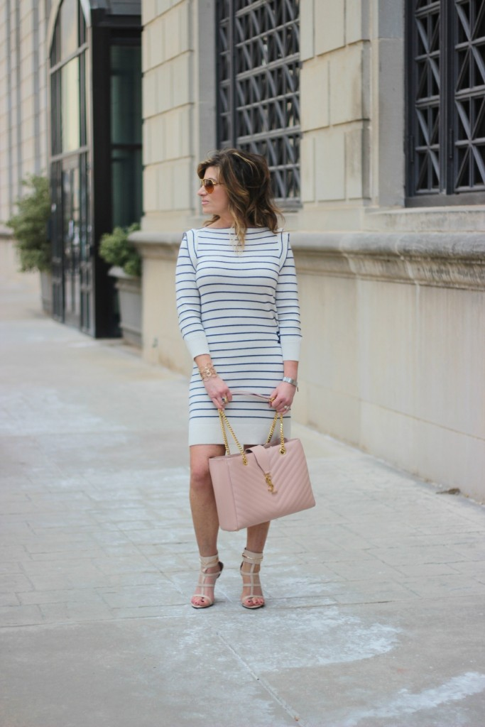 Spring Stripes Marc Jacobs Saint Laurent Tote