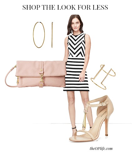 Spring Stripes and Blush The OP Life