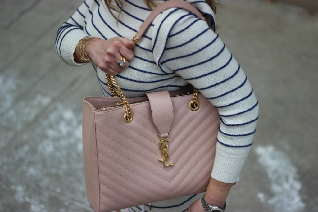 Summer Stripes Marc Jacobs Saint Laurent Tote 5