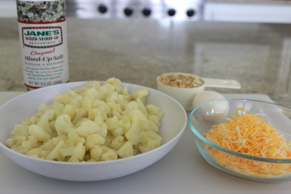 Cauliflower Tots barbecue side dish