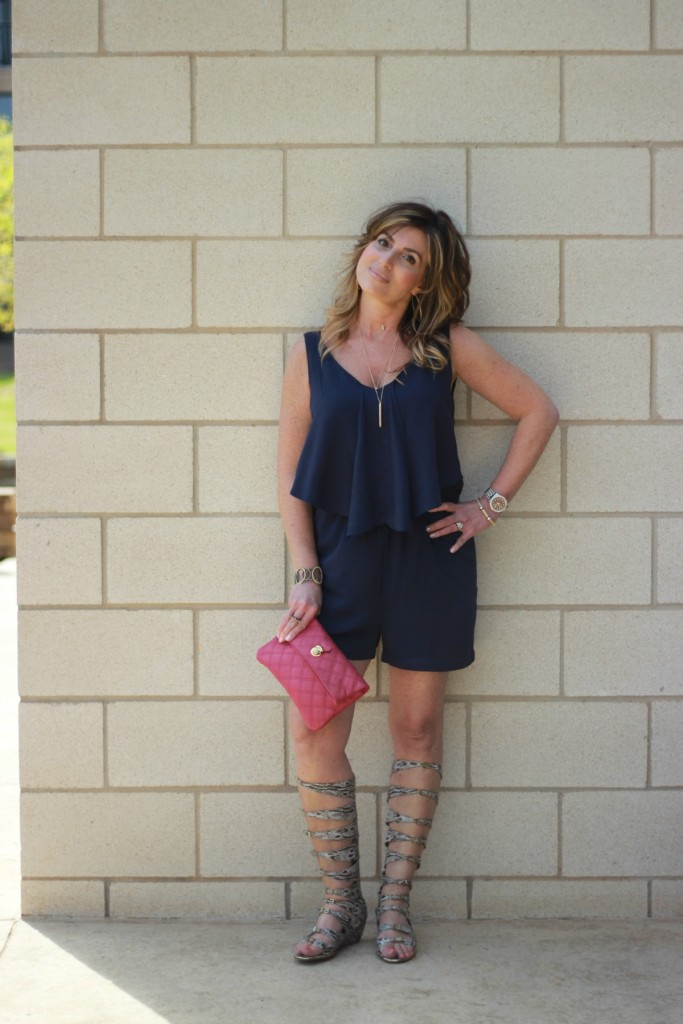 Fashion Trend:  Rompers and Gladiators