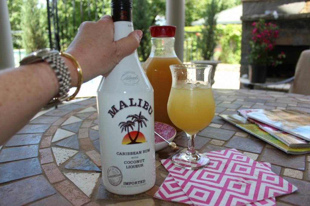 Pocket Full of Sunshine Fuzzy Friday Malibu Rum 5
