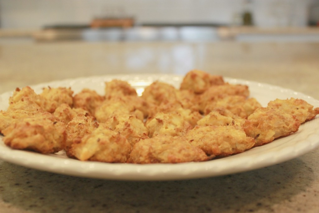 Cauliflower Tots barbecue side dish 9