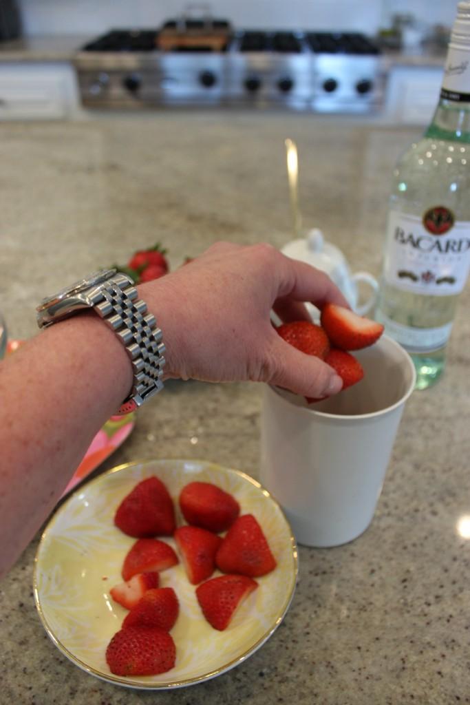 Healthy Strawberry Daiquiri 2