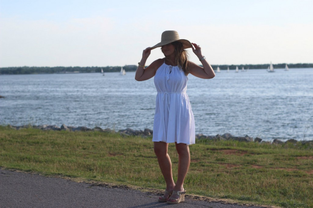 Target Hat White Dress Island Dressing 4