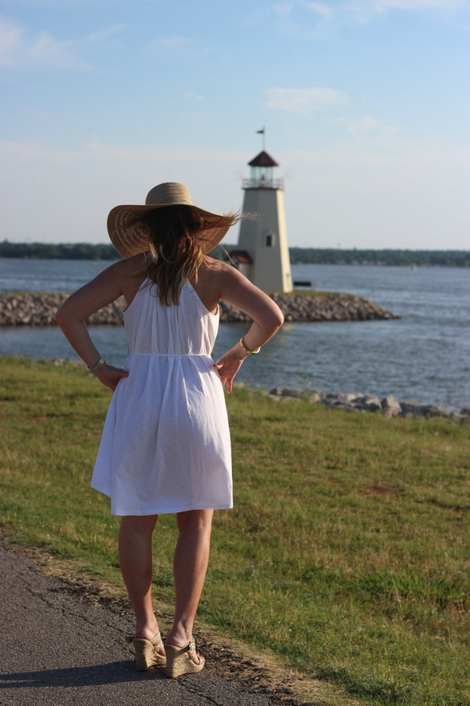 Target Hat White Dress Island Dressing 5