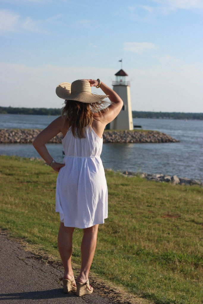 Target Hat White Dress Island Dressing 6