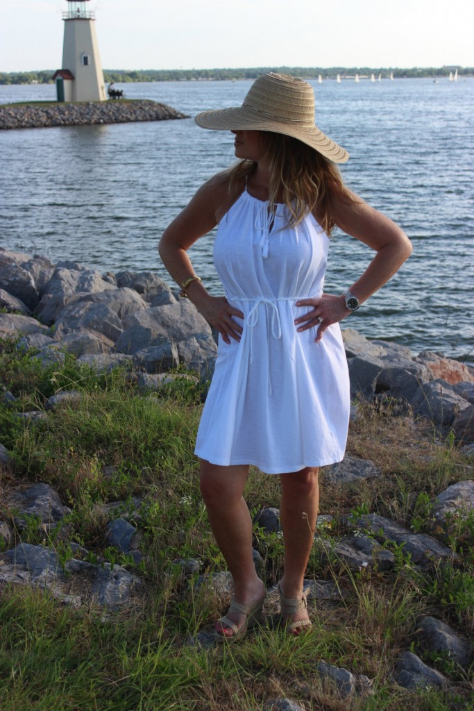 Target Hat White Dress Island Dressing 7