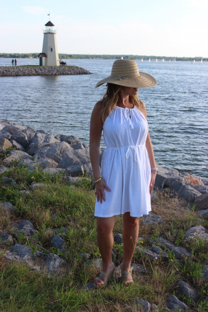 Target Hat White Dress Island Dressing 8