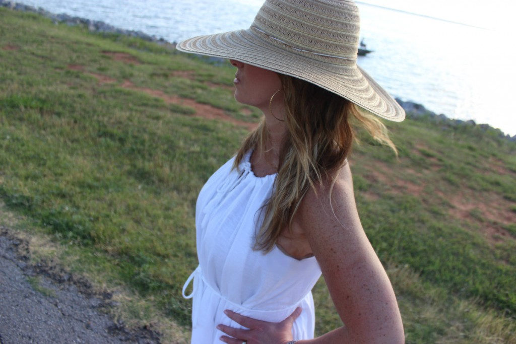 Target Hat White Dress Island Dressing 9