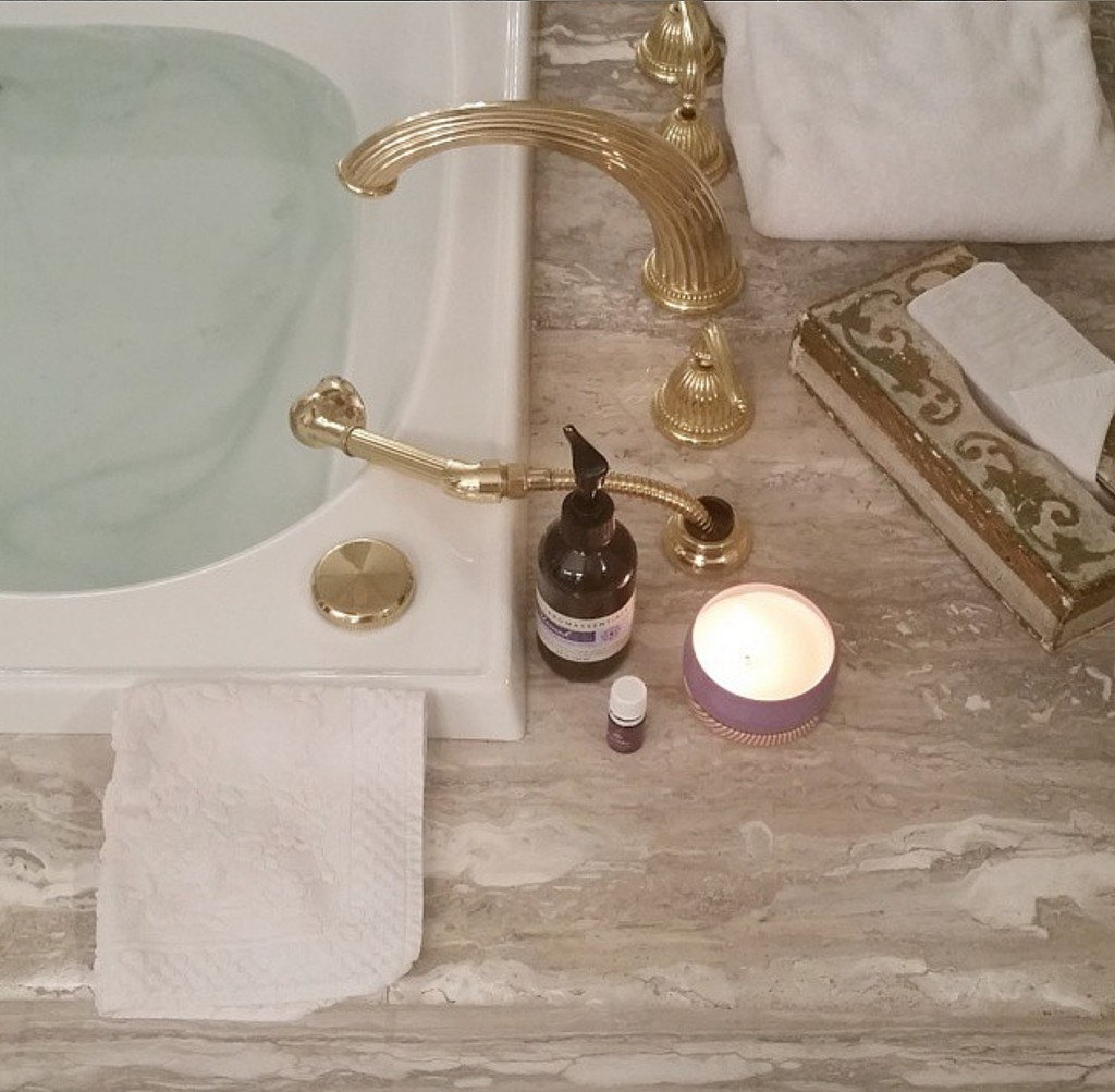 Spa Bath Gold Florentine Arbonne Unwind