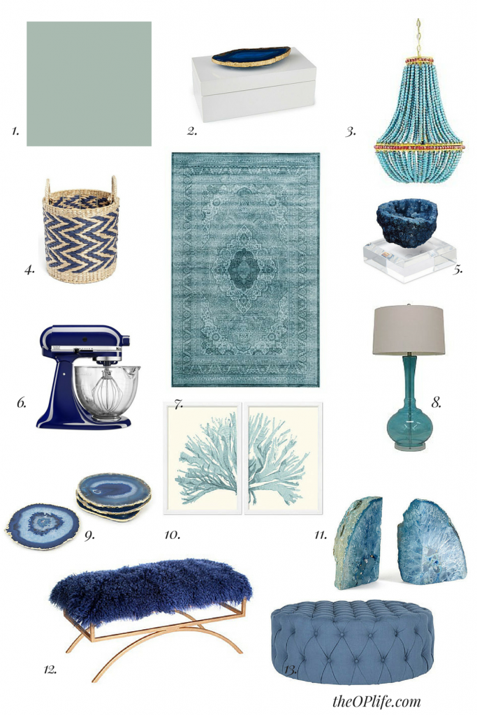 Blue and White Decor: Part 2