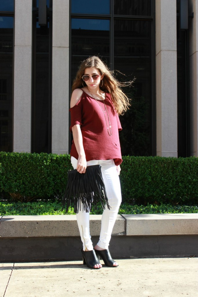 White Jeans For Fall 2