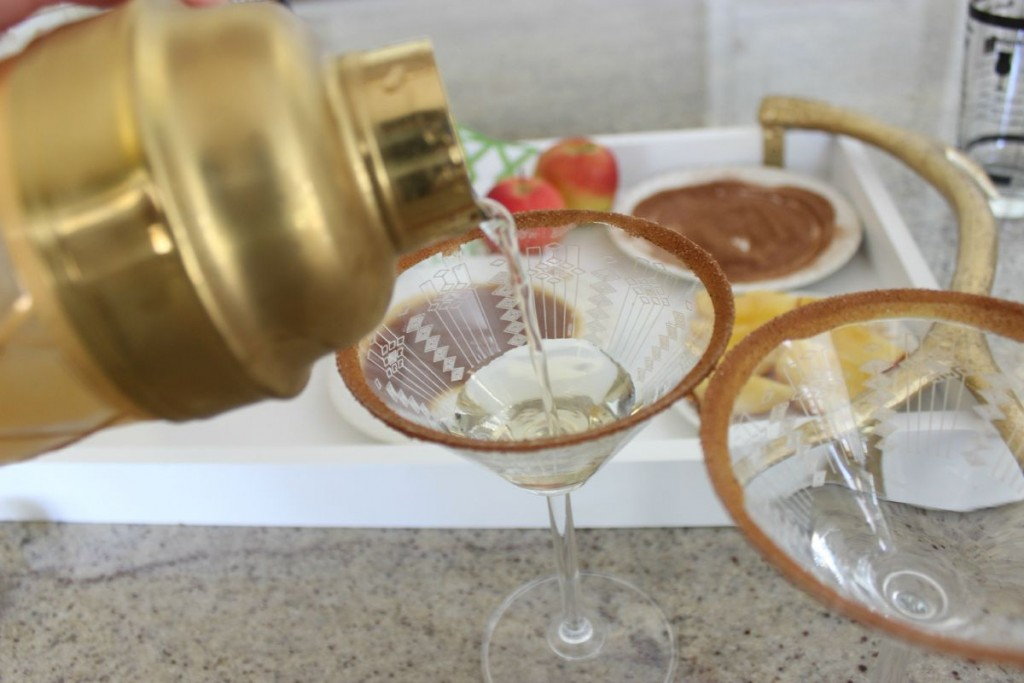 Caramel Apple Martini The OP Life 11