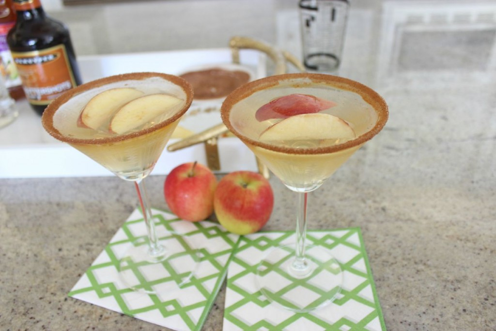 Fuzzy Friday:  Caramel Apple Martini