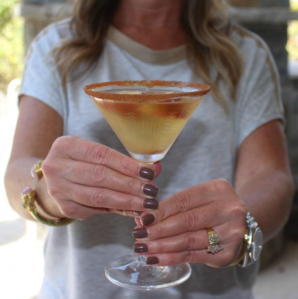 Caramel Apple Martini The OP Life 17
