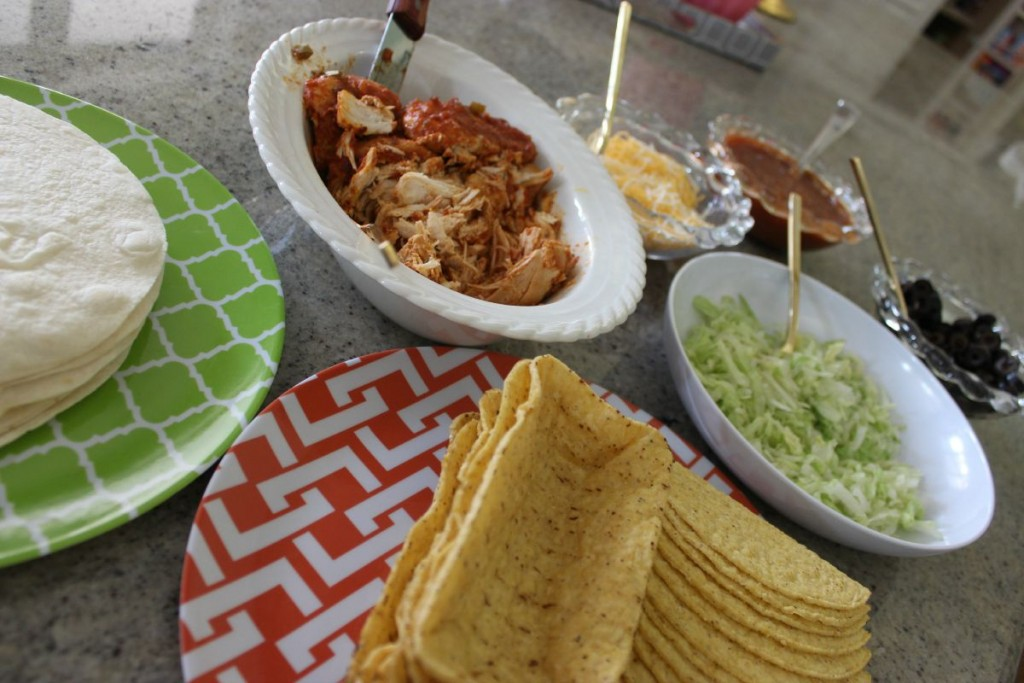Easy Crockpot Chicken Tacos:  Taco Tuesday The OP Life 11