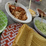 Easy Crockpot Chicken Tacos:  Taco Tuesday