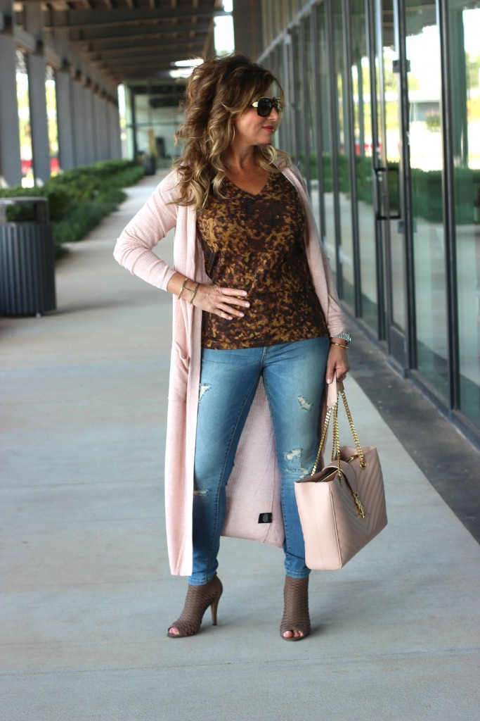 TargetStyle Ripped Jeans and The Duster 6
