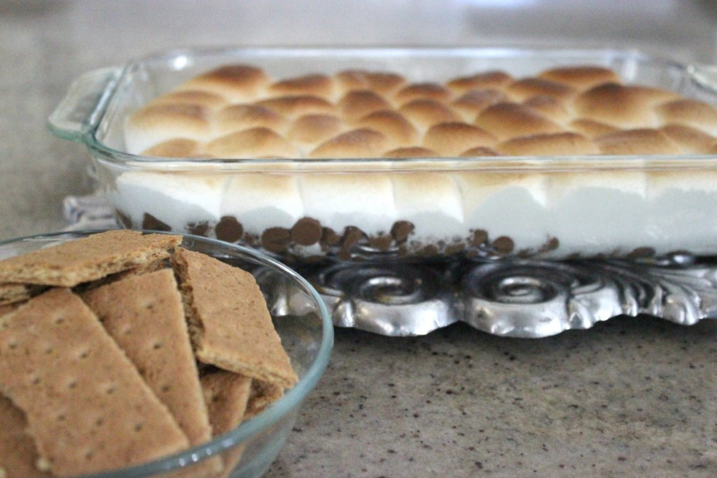 Baked S'mores Dip The OP Life 11