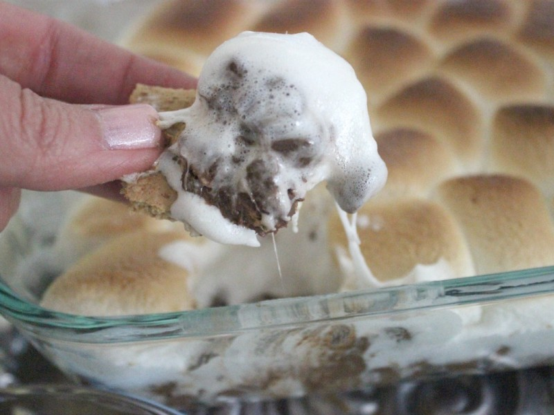 Baked S'mores Dip The OP Life 14