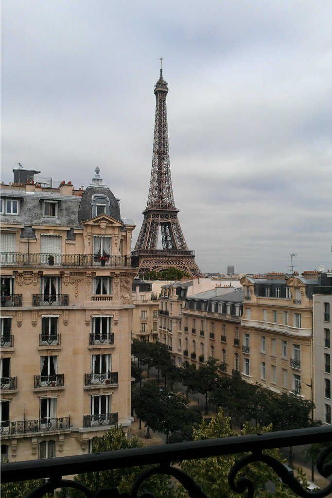 Eiffel tower view Paris Apartment The OP Life