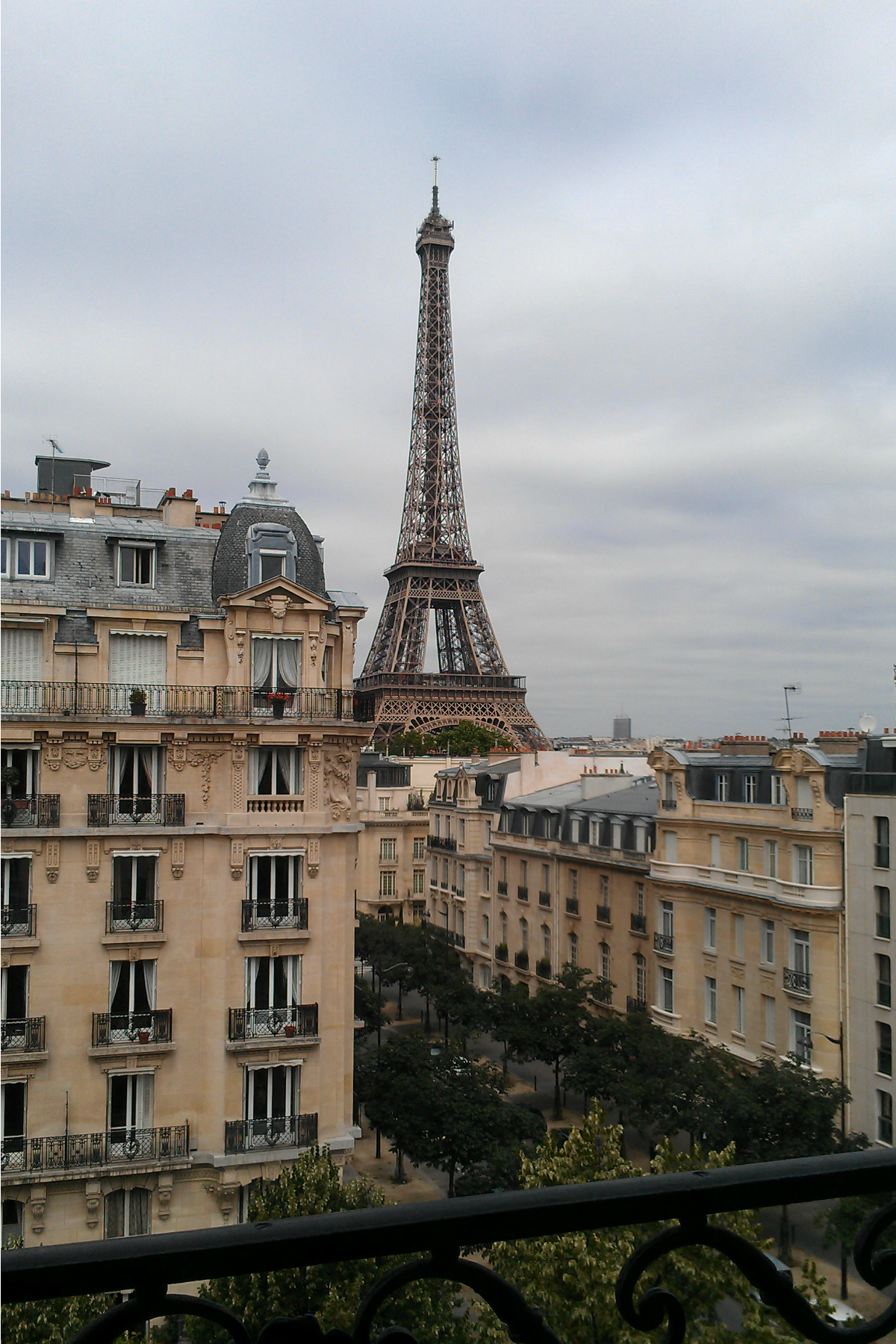 Fuzzy friday the frenchy for Apartment in eiffel tower