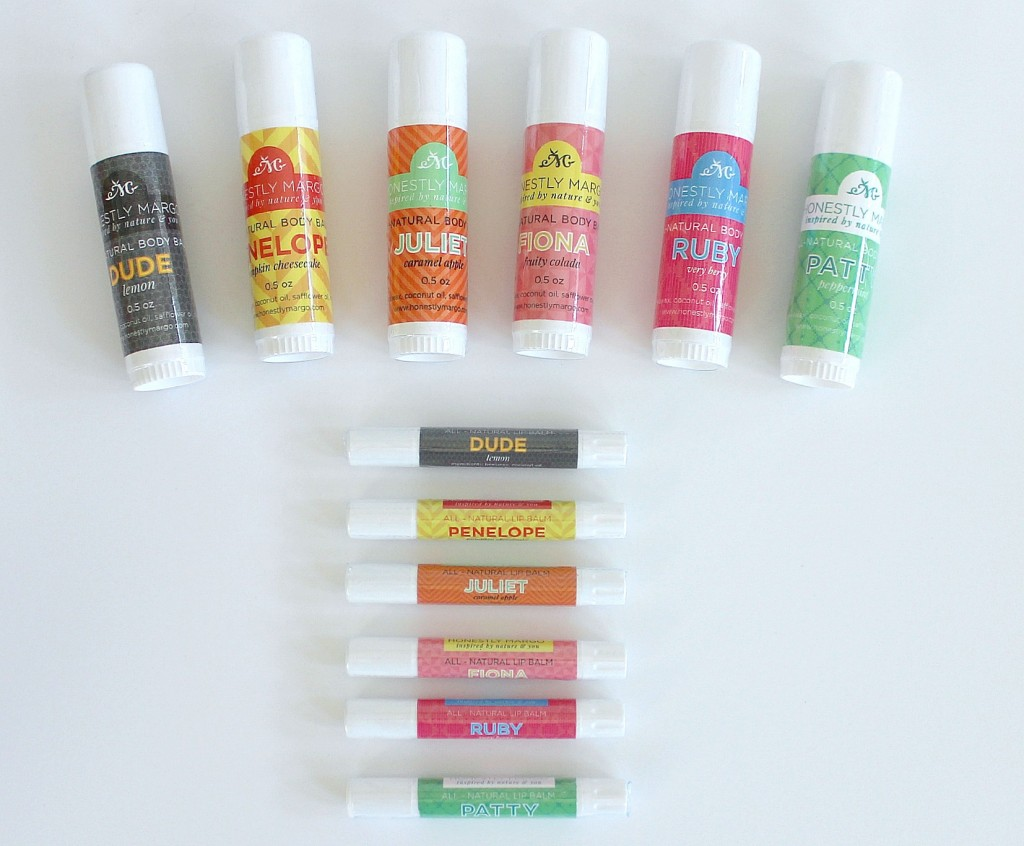 Honestly Margo Lip and Body Balms
