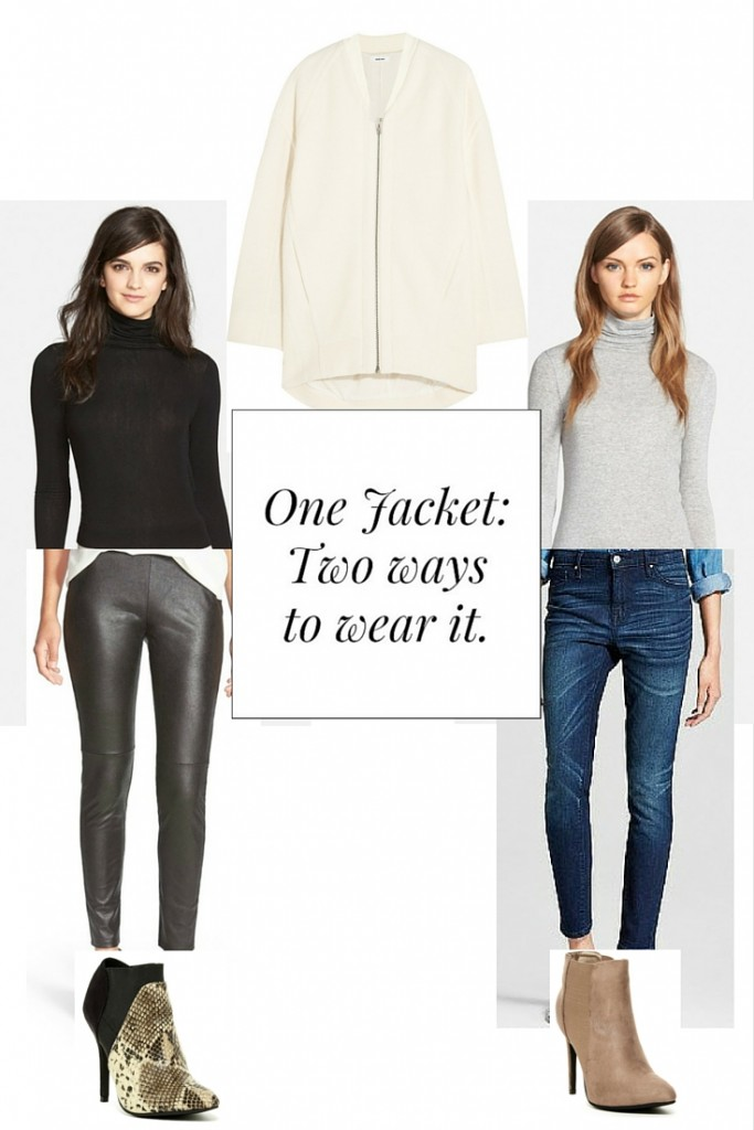 One Jacket, two ways to wear it - The OP Life
