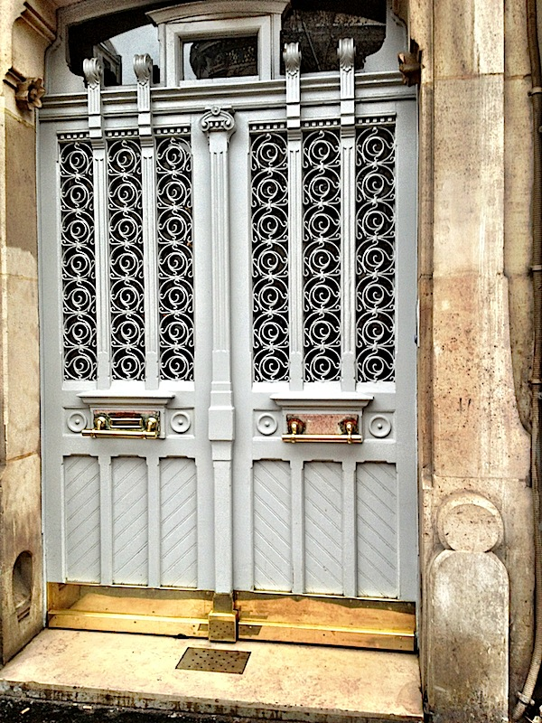 Make A Grand Entrance:  Paris Doors