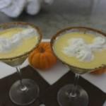 Fuzzy Friday:  Pumpkin Pie Martini