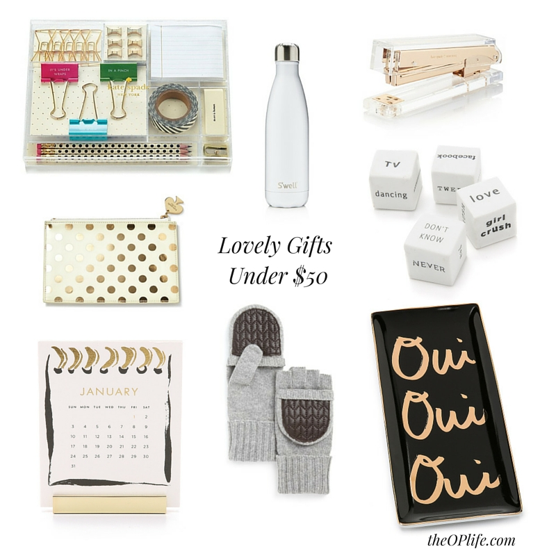 The OP Life Simple Holiday Gift Guide - Gifts Under $50