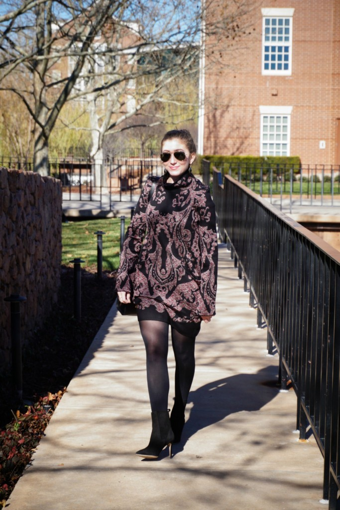 Free People Paisley Tunic Dress The OP Life 5 What To Wear: Birthday Brunch