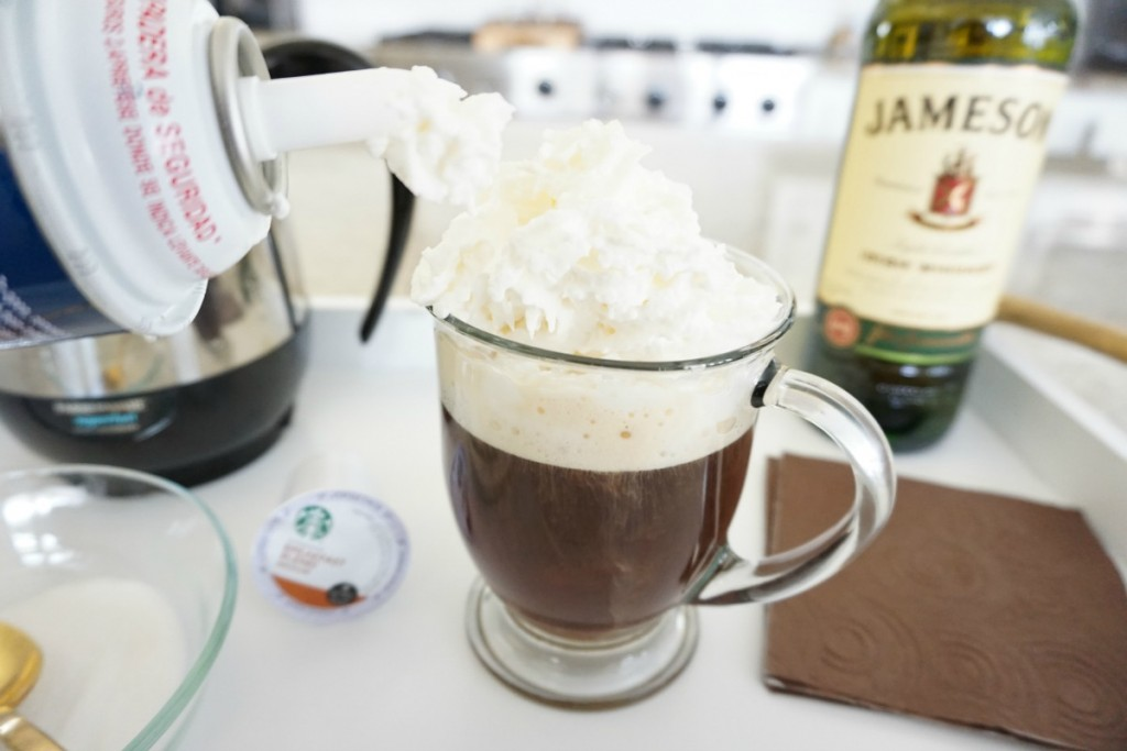 Fuzzy Friday:  Irish Coffee