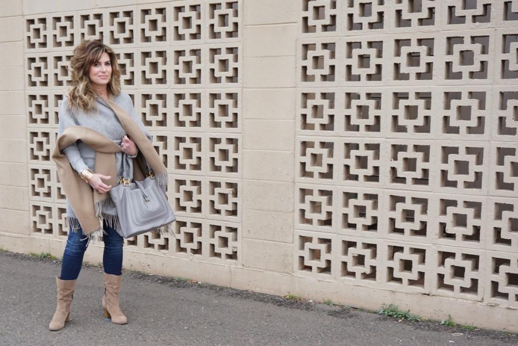 Naturally Neutral Rag & Bone Poncho Chloe Marie Bag The OP Life