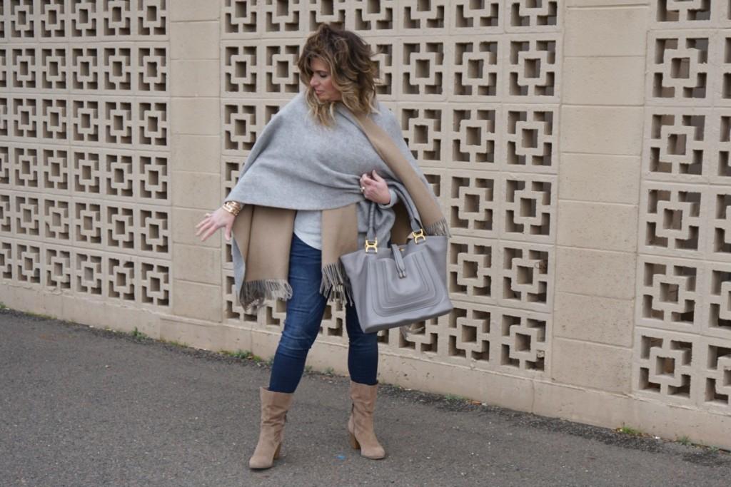 Naturally Neutral Rag & Bone Poncho Chloe Marie Bag The OP Life 2
