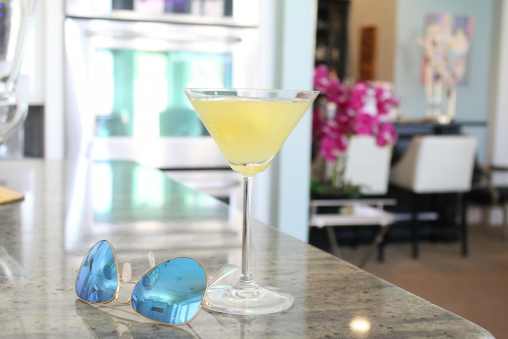 Fuzzy Friday:  Caribbean Martini