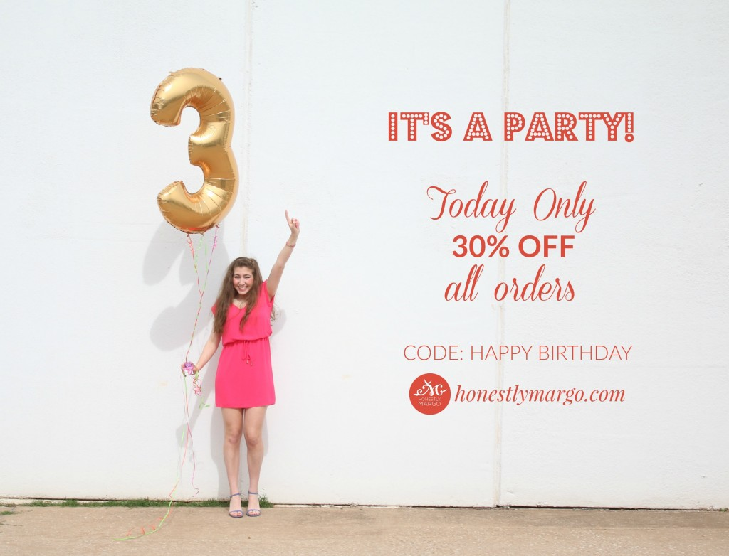 It's A Party Coupon Code Honestly Margo Newsletter