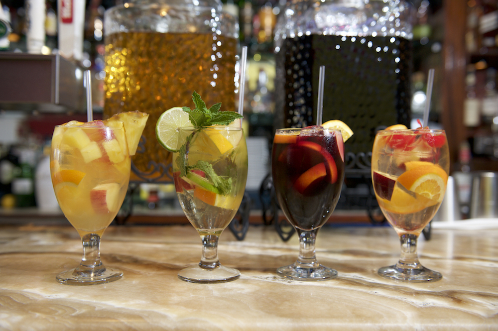 Fuzzy Friday:  Superbowl Sunday Sangria