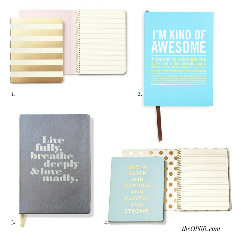Beautiful Journals - 4 Ways to Find Peace - The OP Life