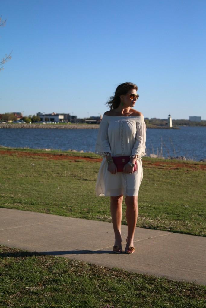 Cold Shoulder Dress Off The Shoulder Strapless Dress The OP Life 2