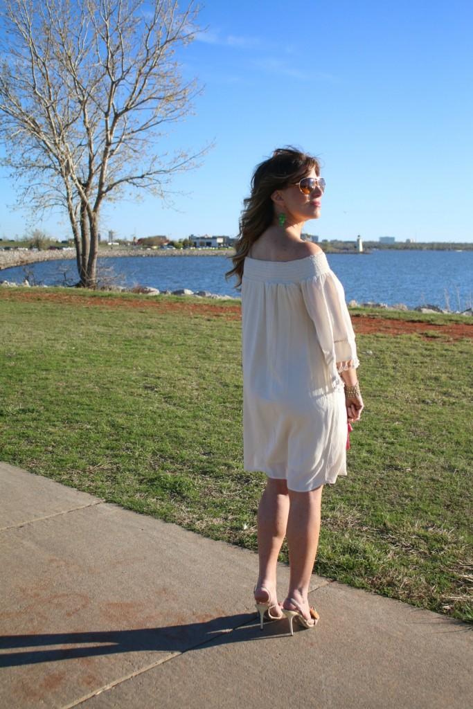 Cold Shoulder Dress Off The Shoulder Strapless Dress The OP Life 4