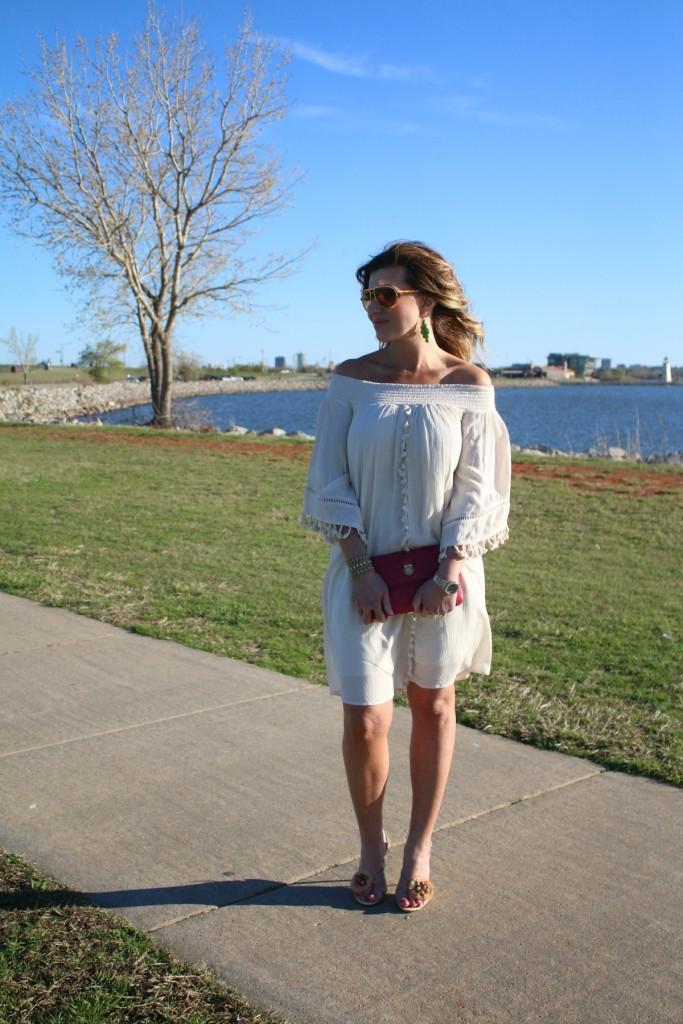 Cold Shoulder Dress Off The Shoulder Strapless Dress The OP Life