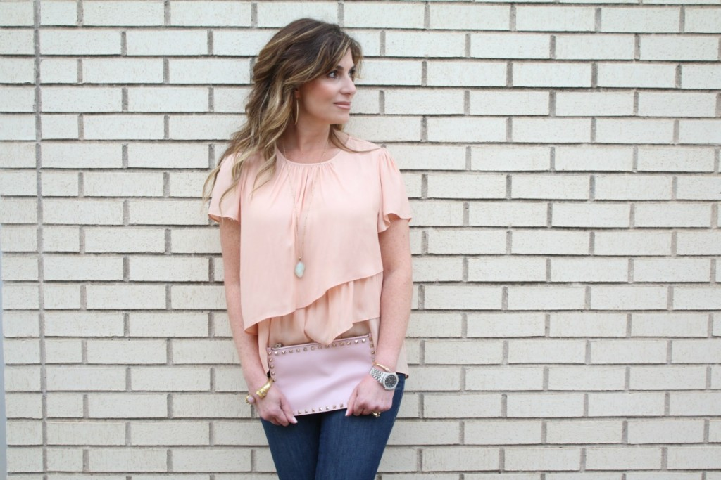 What To Wear:  Ruffled Tops and Pastel Pantones