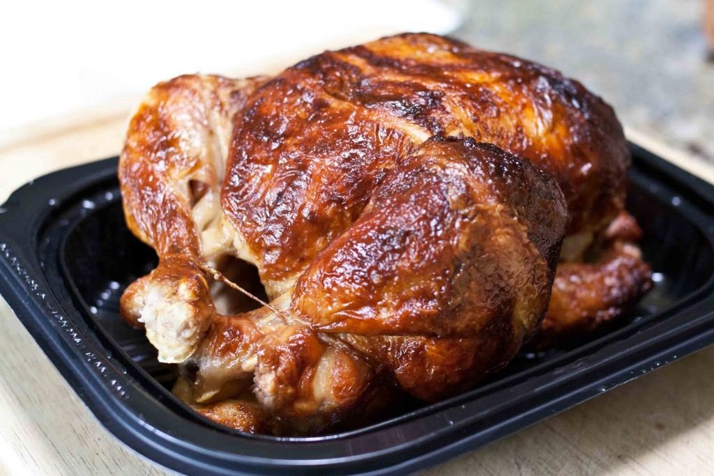 Rotisserie Chicken From The Deli