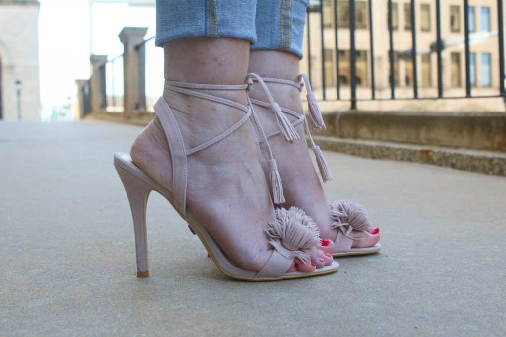 What To Wear:  Strappy Sandals